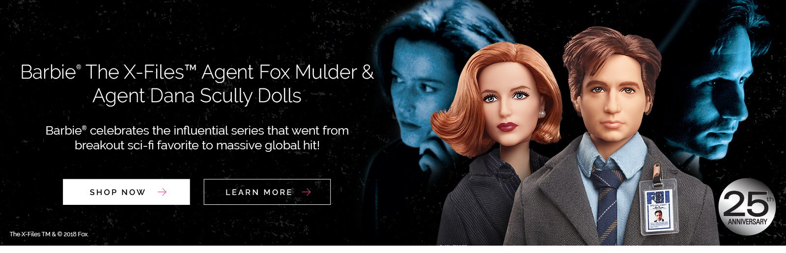 Barbie Celebrates the 25th Anniversary of THE X-FILES!