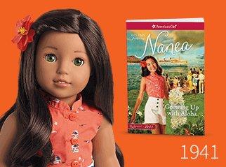 American Girl Nanea Mitchell