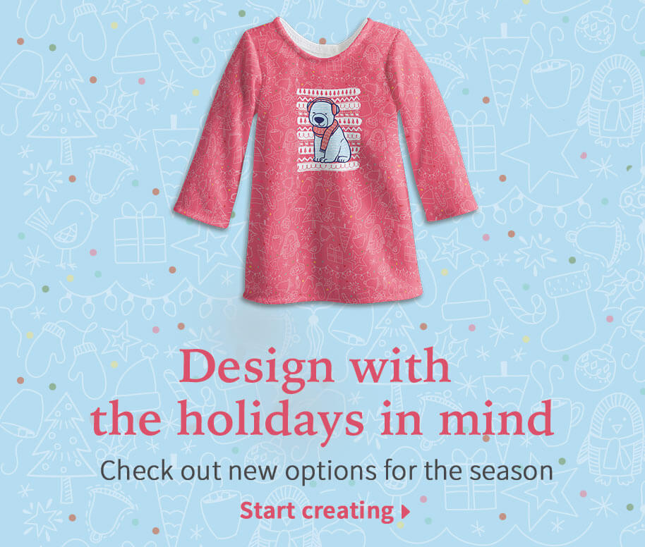 Design with the holidays in mind. Check out new options for the season.