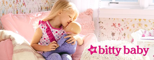Bitty Baby - Nurturing playtime today teaches kindness and caring that lasts a lifetime.