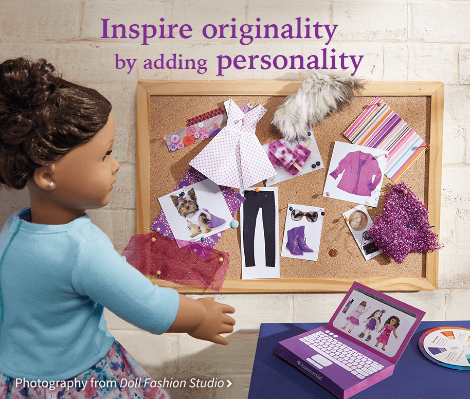 Inspire originality by adding personality