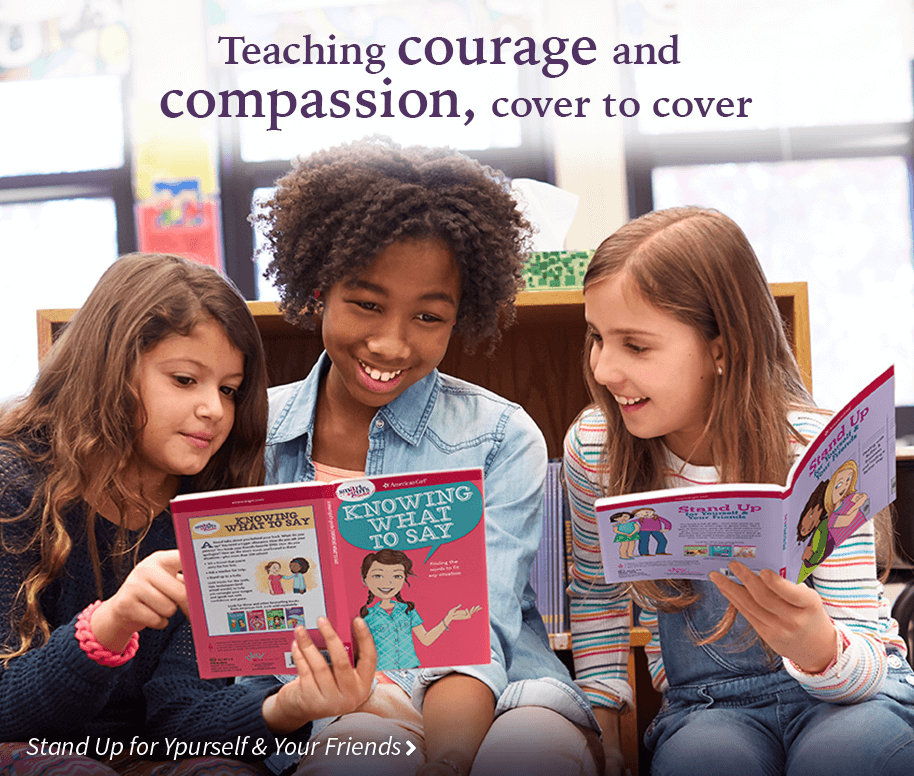 Teaching courage and compassion, cover to cover