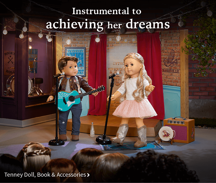 Instrumental to achieving her dreams