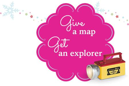Give a map get an explorer