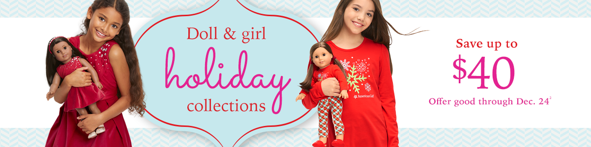 Doll & girl holiday collections
