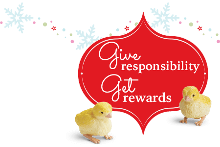 Give responsibility get rewards