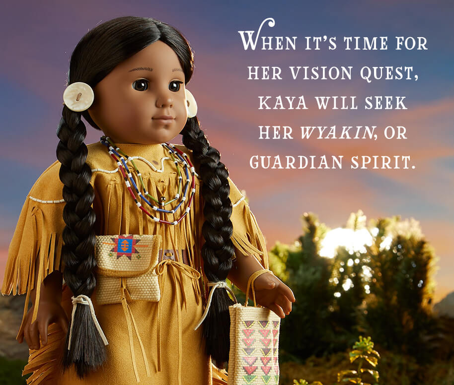 When it's time for her vision quest, Kaya will seek her wyakin, or guardian spirit.