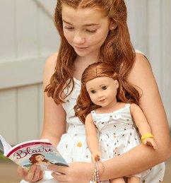 Blaire Wilson reading