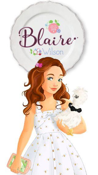 American Girl Meet Blaire Wilson Catalog 2019