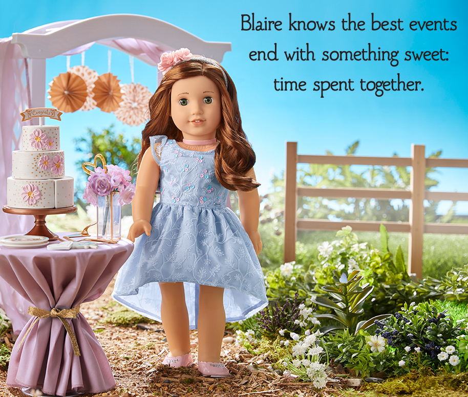 Blaire knows the best events end with something sweet: time spent together.
