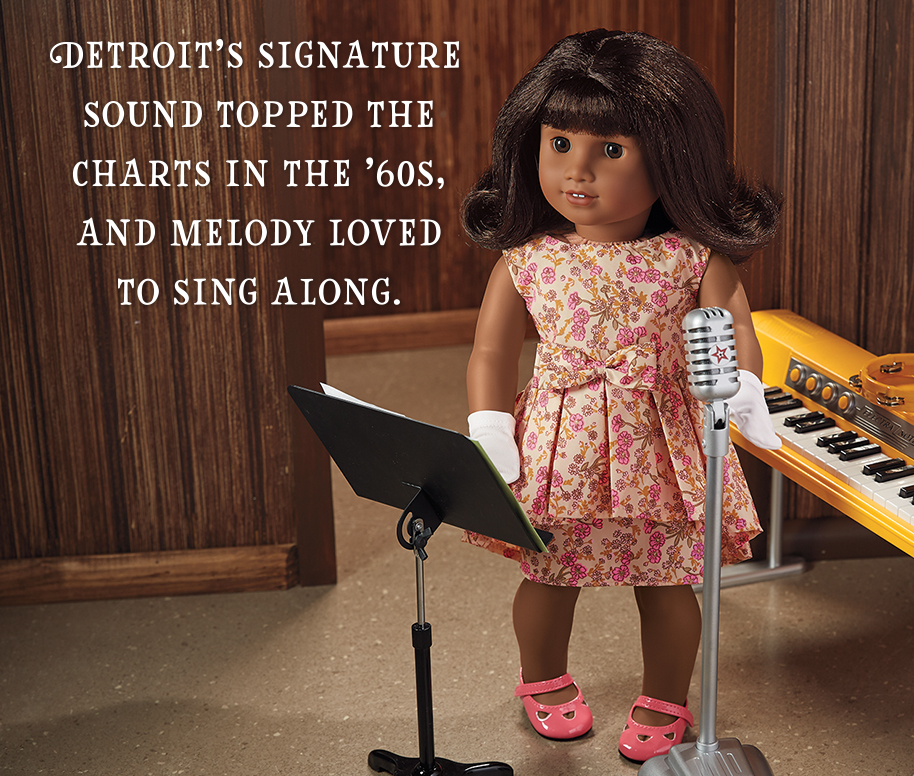 Detroit's signature sound topped the charts in the '60s, and Melody loved to sing along.