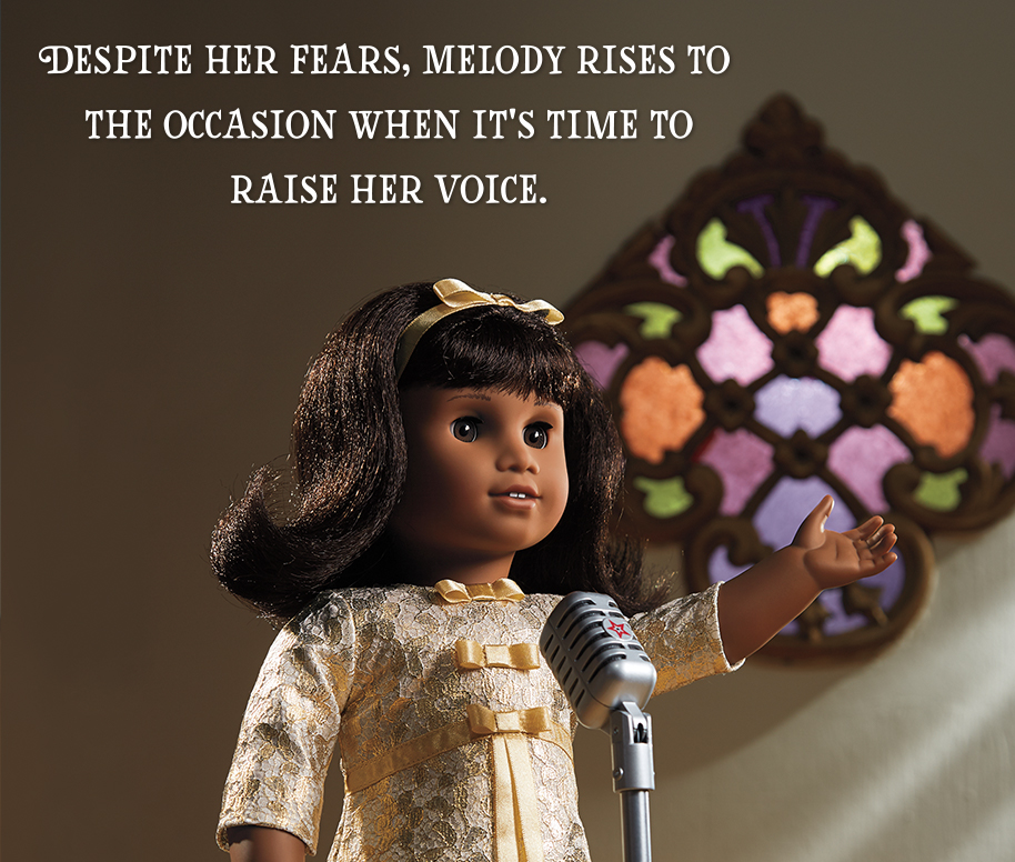 Despite her fears, Melody rises to the occasion when it's time to raise her voice.