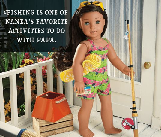 Fishing is one of Nanea's favorite activities to do with Papa.