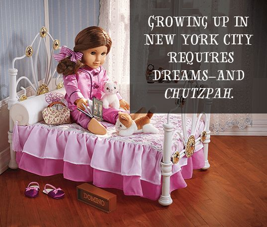 Growing up in new York City requires dreams-and chutzpah.