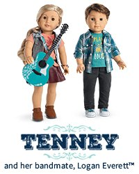 Tenney and her bandmate, Logan Everett