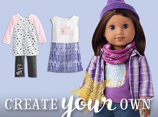 American Girl Create Your Own