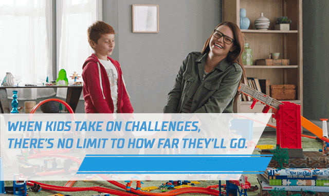 When kids take on challenges, there's no limit to how far they'll go. Watch now.