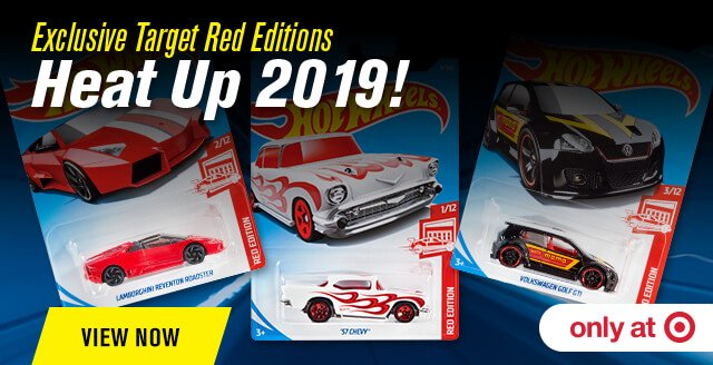 Exclusive Target Red Editions Heat Up 2019!