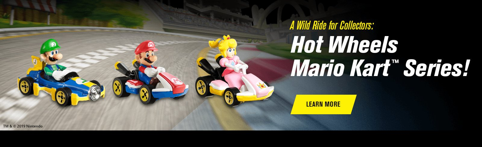 A Wild Ride for Collectors: Hot Wheels Mario Kart™ Series!