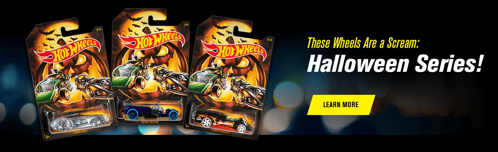 These Wheels Are a Scream: Halloween Series!