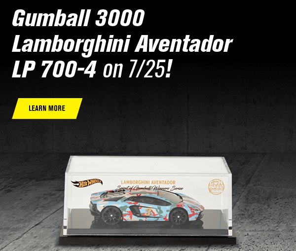 Gumball 3000 Lamborghini Aventador LP 700-4 on 7/25!