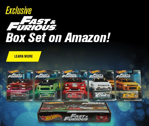 Exclusive Fast & Furious Box Set on Amazon!
