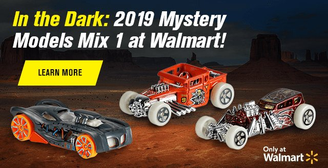 In the Dark: 2019 Mystery Models Mix 1 at Walmart!