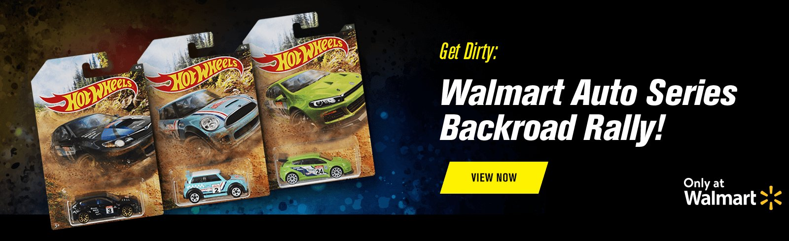 Get Dirty: Walmart Auto Series Backroad Rally!