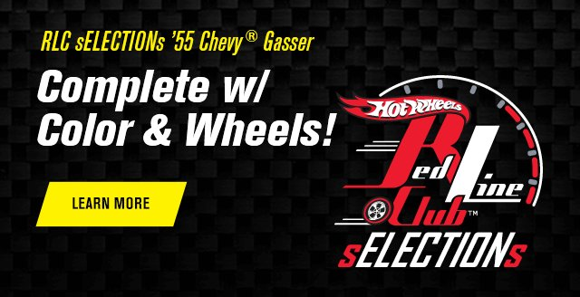 RLC sELECTIONs 55 Chevy Gasser Complete w/ Color & Wheels!