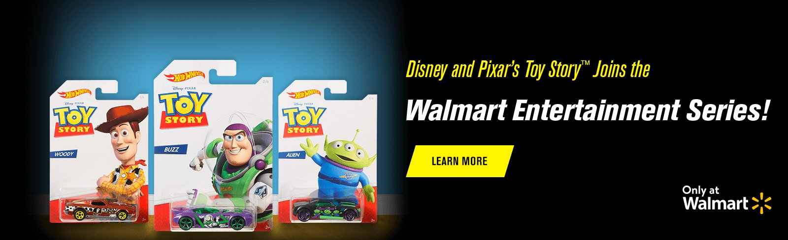 Disney and Pixar's Toy Story™ Joins the Walmart Entertainment Series!
