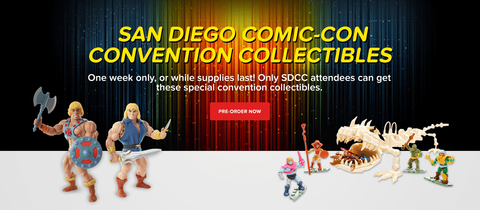 San Diego Comic-Con Convention Collectibles