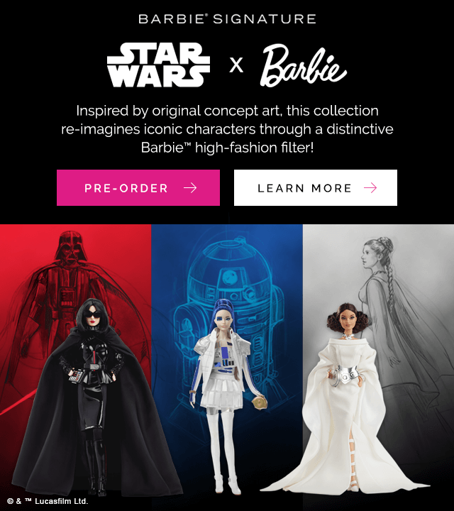 Star Wars X Barbie