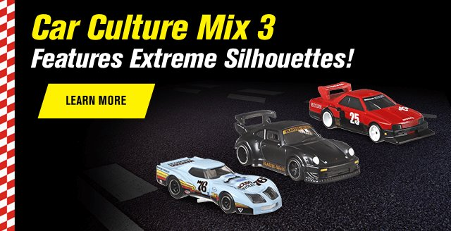 Car Culture Mix 3 Features Extreme Silhouettes!