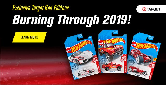 2Exclusive Target Red Editions Burning Through 2019!