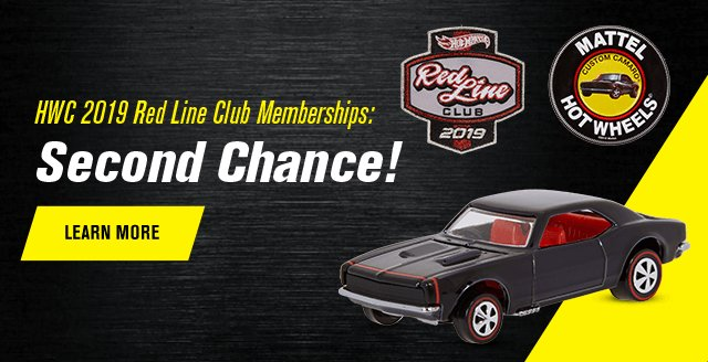 HWC 2019 Red Line Club Memberships: Second Chance!