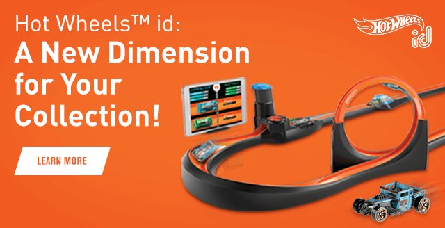 Hot Wheels™ id: A New Dimension for Your Collection!