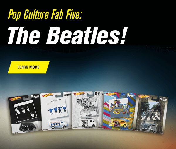 Pop Culture Fab Five: The Beatles!