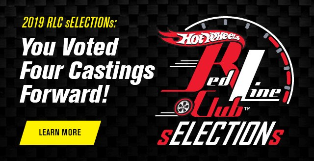 2019 RLC sELECTIONs: You Voted Four Castings Forward!