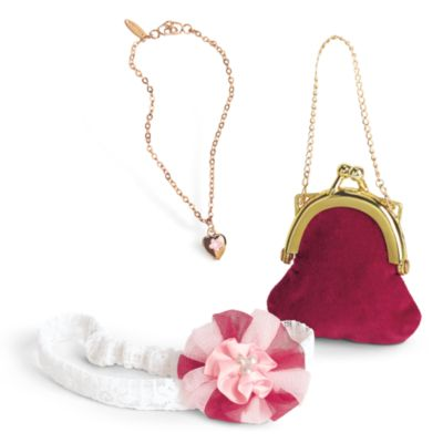 """S2 YOUR CHOICE of CHARM Details about  /Doll Jewelry for 18/"""" American Girl GOLD NECKLACE"""