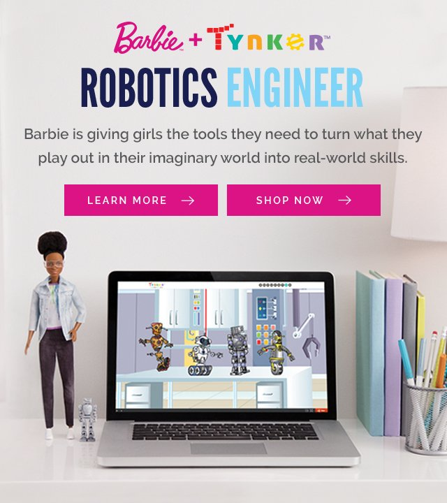 Barbie Roobotics Engineer