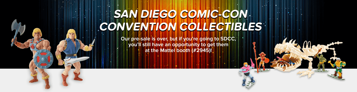 Featured at SDCC
