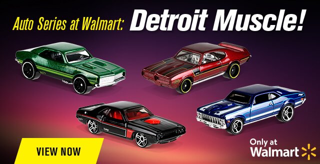 Auto Series at Walmart: Detroit Muscle!