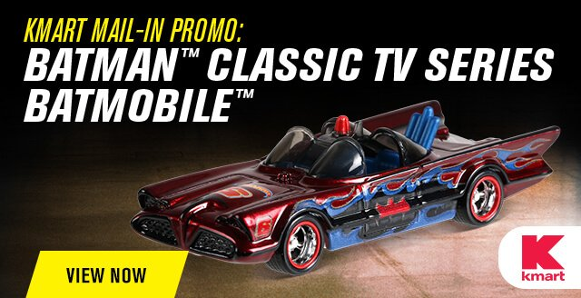 2018 HW Collector Edition Batman™ Classic TV Series Batmobile™ From Kmart!