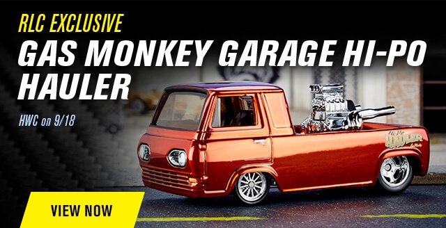 RLC Exclusive Gas Monkey Garage Hi-Po Hauler at HWC on 9/18