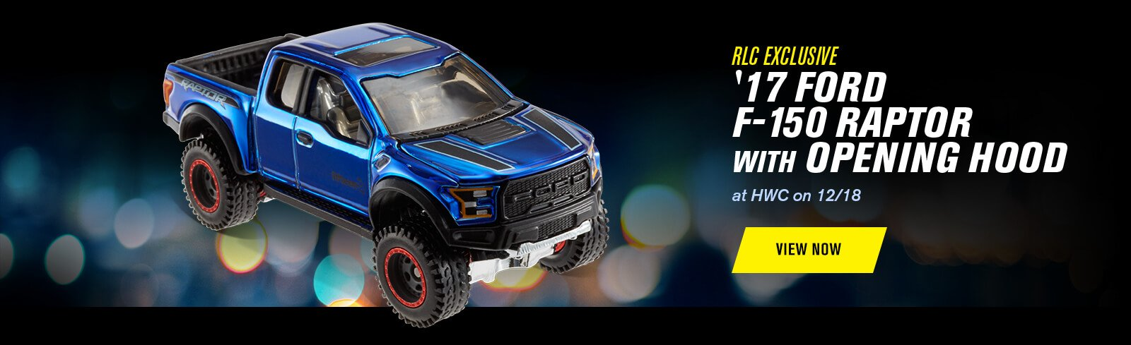 RLC Exclusive '17 Ford F-150 Raptor With Opening Hood at HWC on 12/18