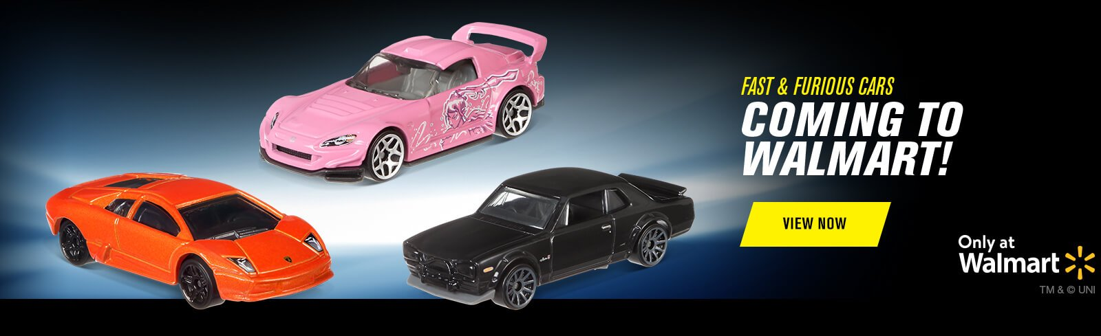 Fast & Furious Cars Coming to Walmart!