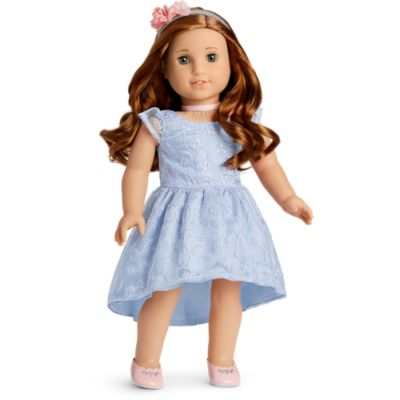 American Girl Truly Me Fancy Holiday Dress Outfit for 18-inch Dolls  NEW in Box