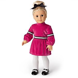 Julie's Christmas Outfit for 18-inch Dolls-Image