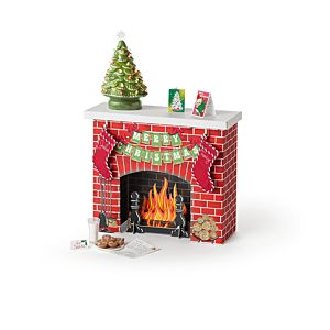 Julie's Christmas Fireplace-Image
