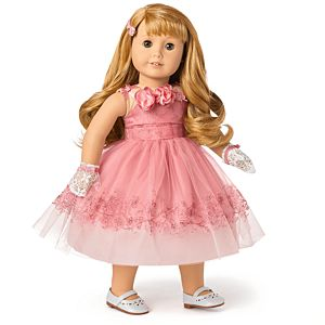 Maryellen's Pretty Pink Dress for 18-inch Dolls-Image